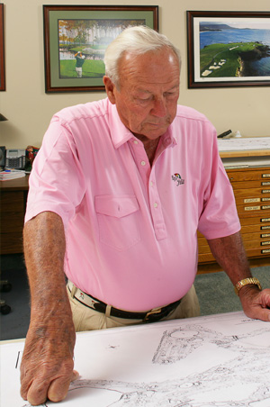 Golf Legend Arnold Palmer