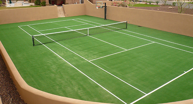 Tour Greens Ohio Installers Of Synthetic Grass Tennis Courts