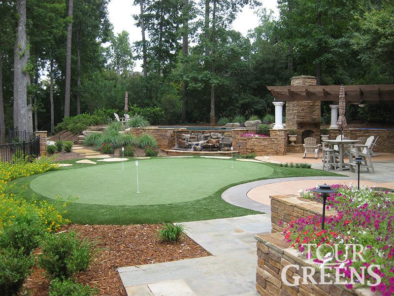 Tour Greens Ohio   Putting Greens Photo Gallery on Small Backyard Putting Green id=77852