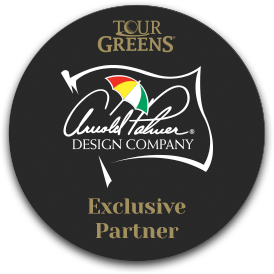 Tour Greens is an Exclusive Partner of Arnold Palmer Design Company
